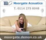 Moorgate Acoustics Advert