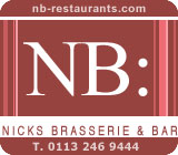 Nick's Brasserie Advert